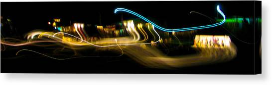 Skirling Lights Canvas Print by Brian Gibson