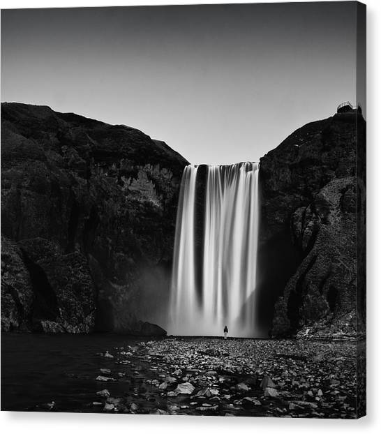 Skogarfoss Canvas Print
