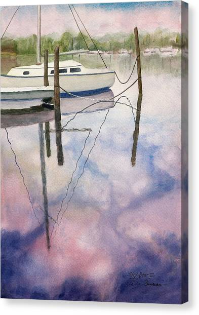 Sky Boat II Canvas Print