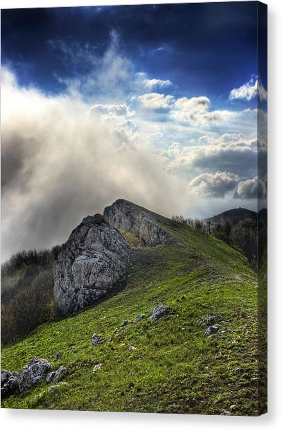 Sky Boundary Canvas Print