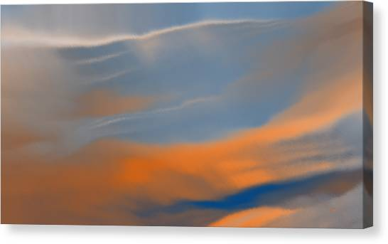 Sky Break Canvas Print
