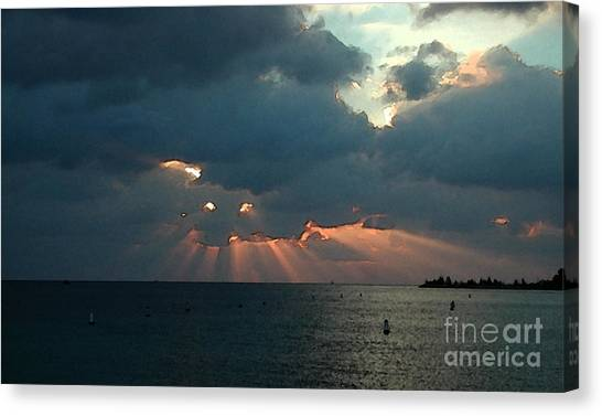 Sky Dragon - Florida Keys Canvas Print