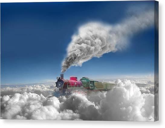 Sky Express Canvas Print by Igor Zenin