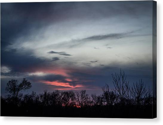 Sky Faces Canvas Print by Kelly Kitchens