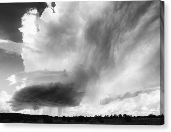 Sky Falls Down Canvas Print