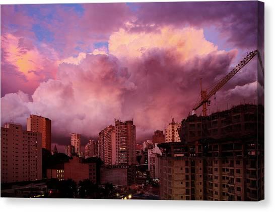 Sky II Canvas Print by Felipe Djanikian