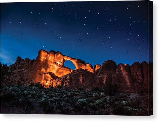 Sky Line Light Canvas Print