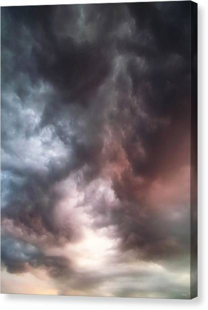 Thunderclouds Canvas Print - Sky Moods by Glenn McCarthy