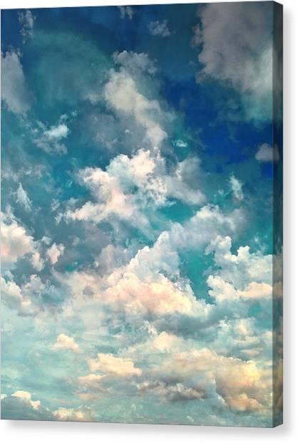 Installation Art Canvas Print - Sky Moods - Refreshing by Glenn McCarthy