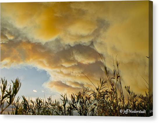 Sky Of Smoke Canvas Print
