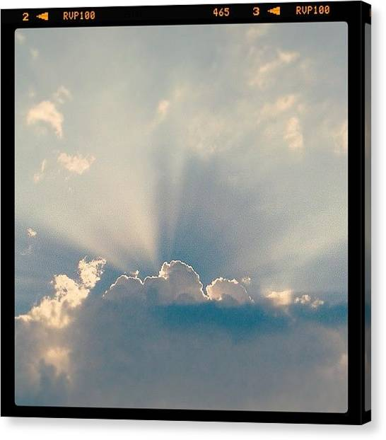 Bright Canvas Print - Sky by Raimond Klavins