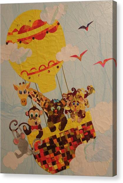 Sky Riders Canvas Print