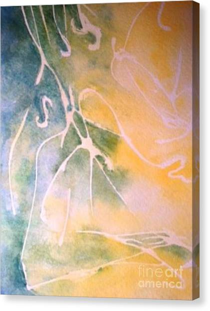 Sky Writing Canvas Print