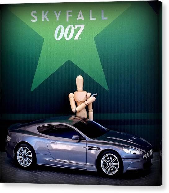 Goldeneye 007 Canvas Print - Skyfall by Guy Pettingell