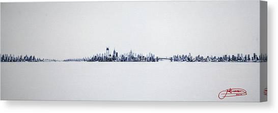 Skyline 10x30-2 Canvas Print