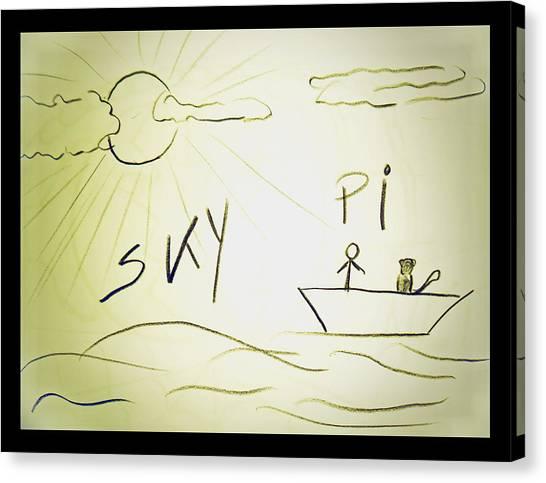 Skype Canvas Print by Beto Machado