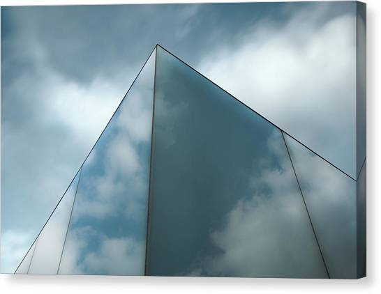 Skyreflect Canvas Print by Gilbert Claes