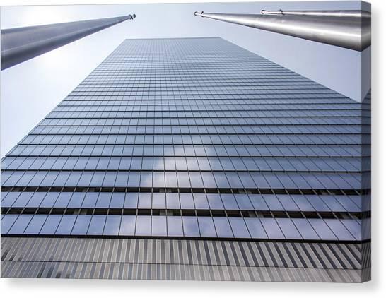 Skyscraper In New York Canvas Print by Rostislav Bychkov