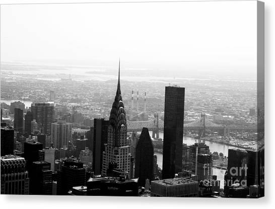 Chrysler Building Canvas Print - Skyscraper by Linda Woods