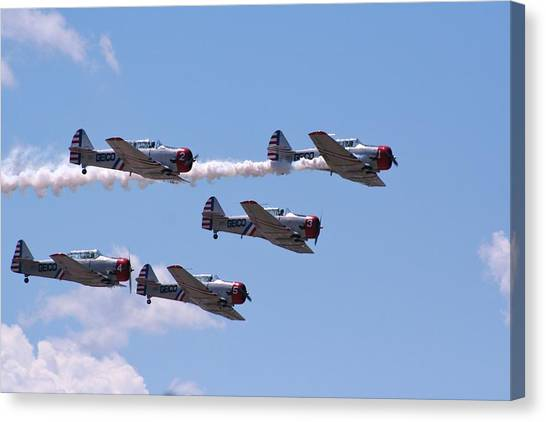 Skytypers Canvas Print