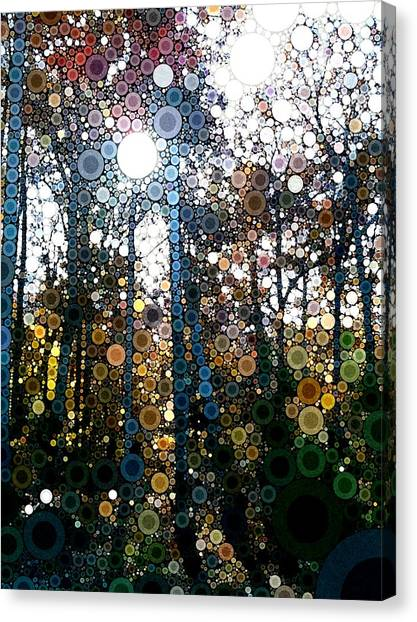 Skyway Forest At Dawn Canvas Print