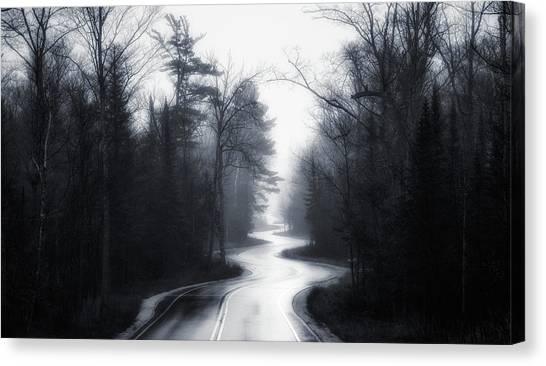 Grove Canvas Print - Slalom by David Rothstein
