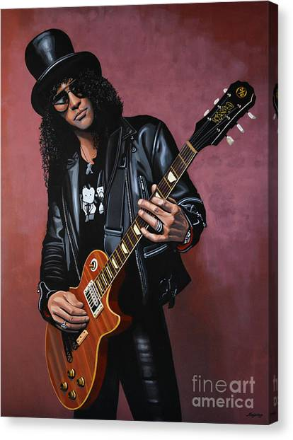 Concerts Canvas Print - Slash by Paul Meijering