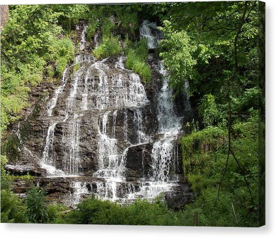 Slatebrook Falls Canvas Print