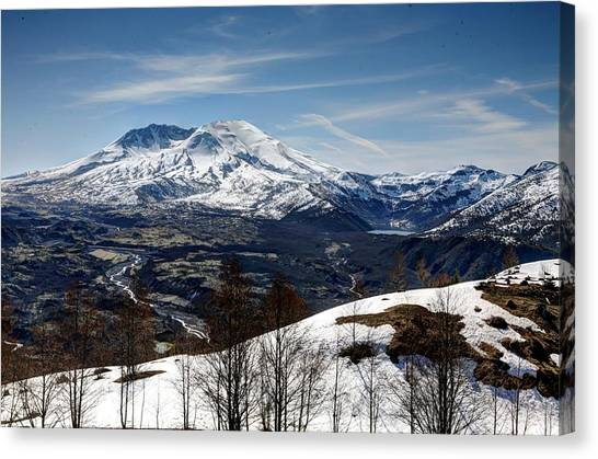 Mount St. Helens Canvas Print - Sleeping Giant by Steve Parr