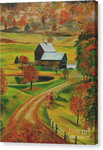 Sleepy Hollow Farm Canvas Print