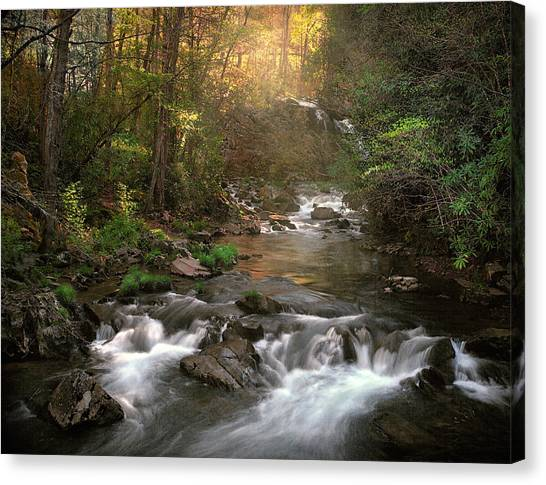 Slice Of Heaven Canvas Print by William Schmid