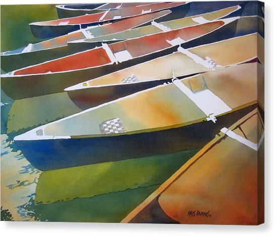 Jenny Lake Canvas Print - Slices by Kris Parins