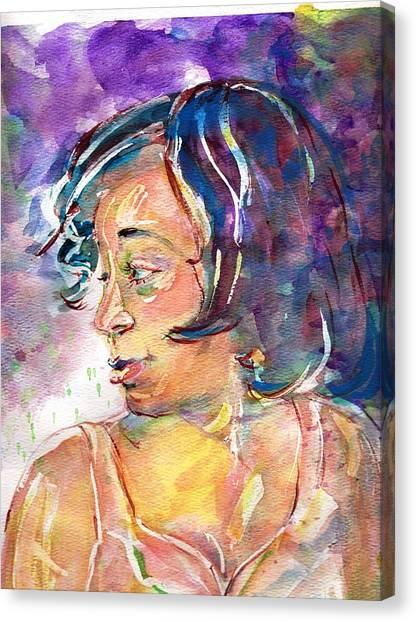 Sloane Canvas Print by Ramona Wright