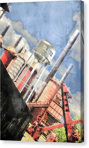 Sloss Furnace Canvas Print