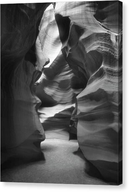 Southwest Canvas Print - Slot Canyon 2 by Mike McGlothlen