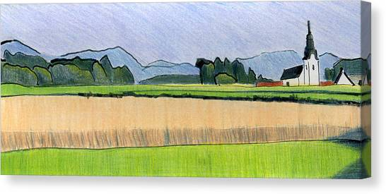 Slovenia. Kranj. Canvas Print by Lelia Sorokina