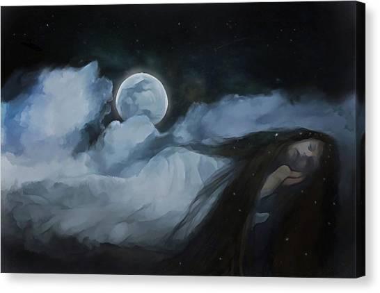 Slumberland Canvas Print by Hazel Billingsley