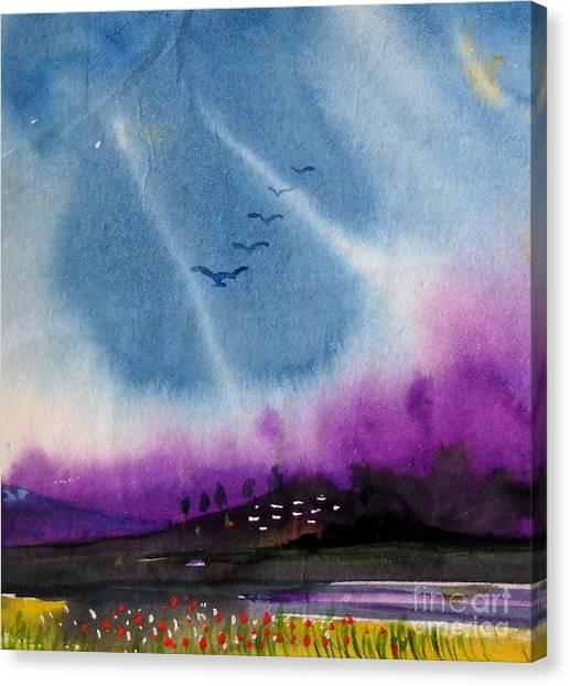 Small Landscape 4 Canvas Print