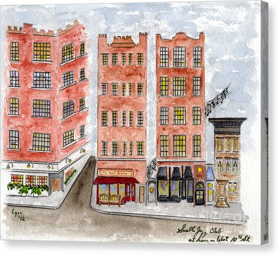 Small's Jazz Club On West 10th Street Canvas Print