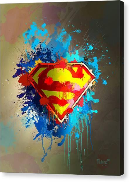 Smallville Canvas Print