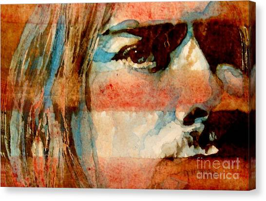 Nirvana Canvas Print - Smells Like Teen Spirit by Paul Lovering