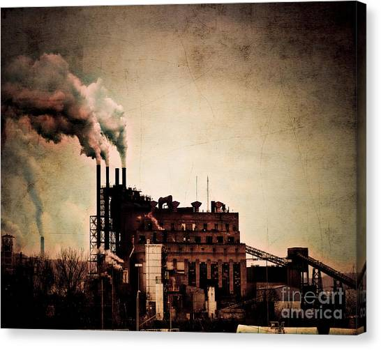 Van Goughs Ear Canvas Print - Smelter by Arne Hansen
