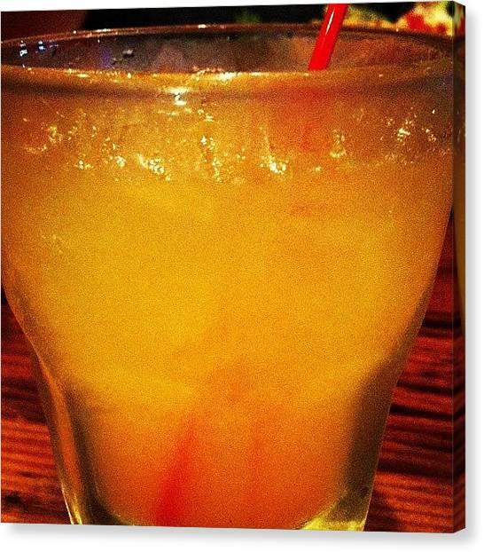 Beer Can Canvas Print - #smirnoff Orange Crush #drink #drinks by Steven Griffin