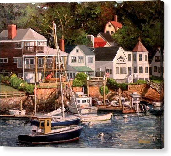 Smiths Cove Gloucester Canvas Print