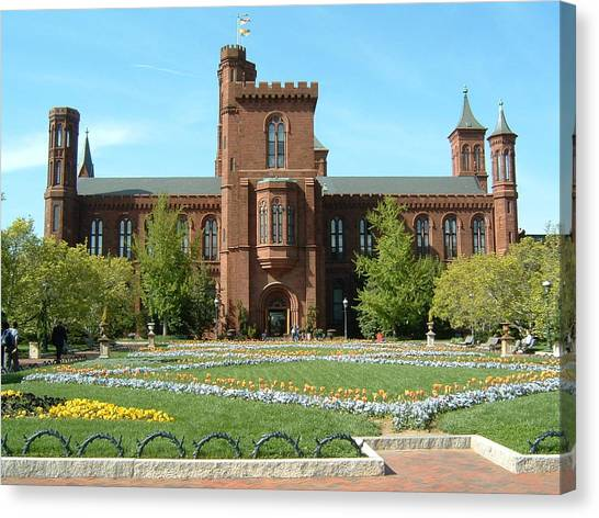 Smithsonian Institute Canvas Print - Smithsonian Institute by Jewels Hamrick