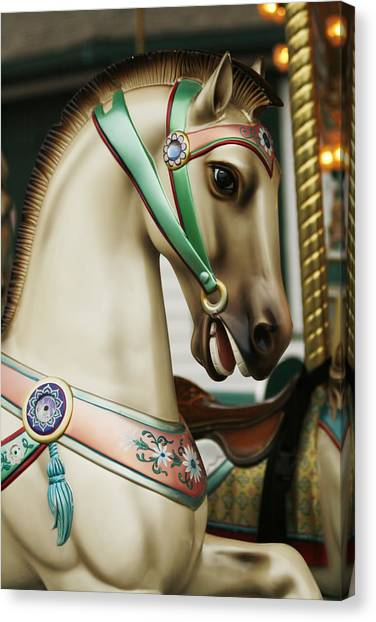 Smithville Carousel Horse I Canvas Print