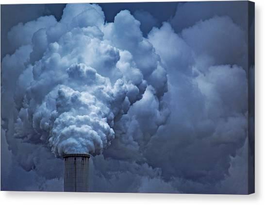 Smoke Billows Canvas Print