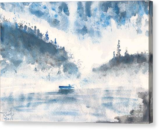 Smoke On The Water  Canvas Print