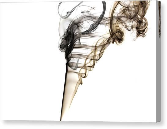 Smoke Trails Canvas Print