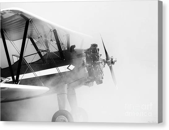 Smoked Engine Canvas Print by Mkaz Photography